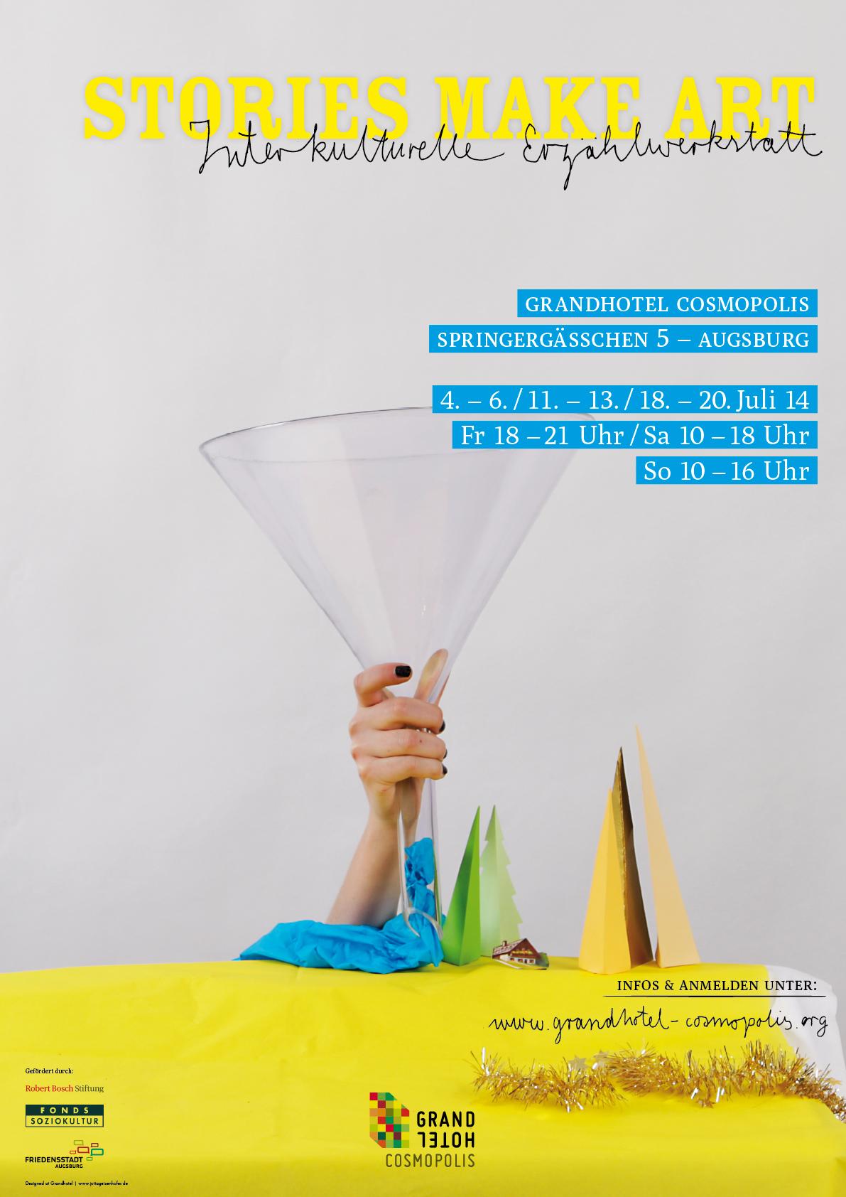 Poster für die Interkulturelle Erzählwerkstatt