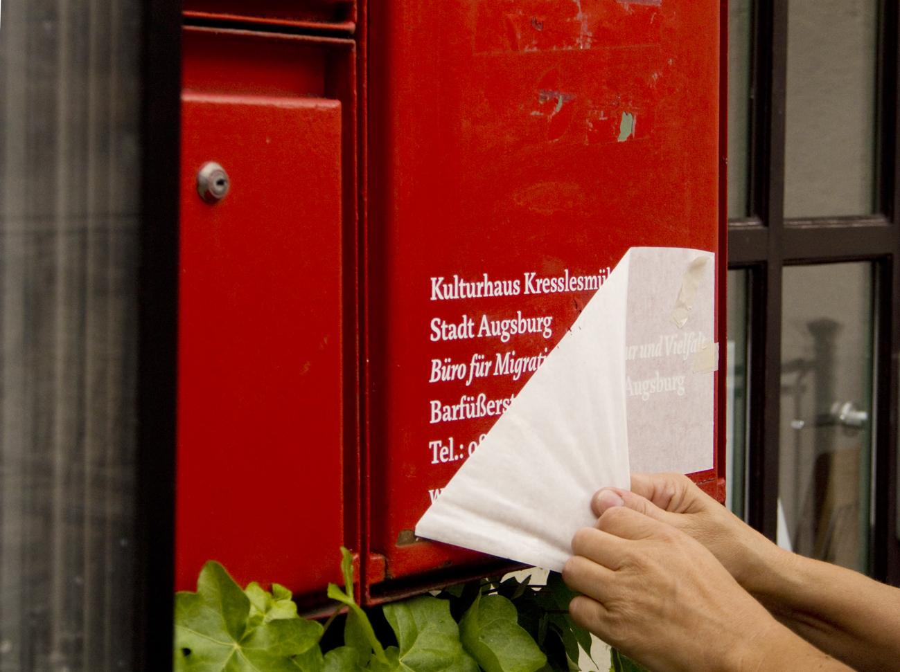 Kresslesmühle Briefkasten