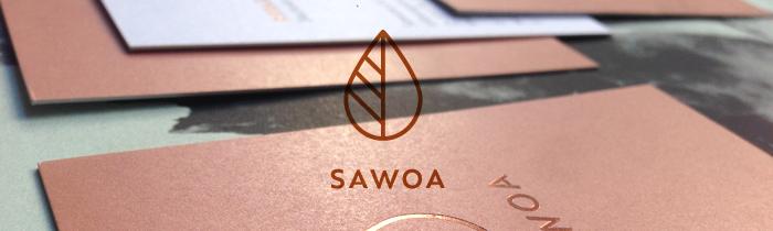 Edle Sache: Corporate Design für Sawoa