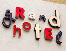 Gestaltung für das Grandhotel Cosmopolis