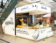 Ladengestaltung und Corporate Design • Frische Bar Augsburg